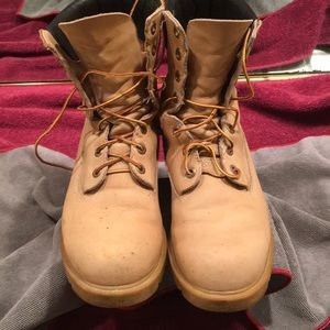 Chippewa unbuckle lace up hunting work boots